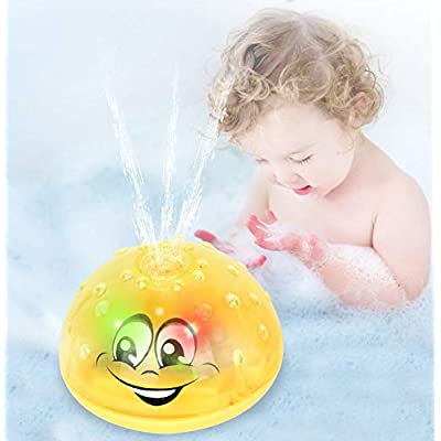 Sopu Spray Water Baby Bath Toy, Waterproof Ligh...