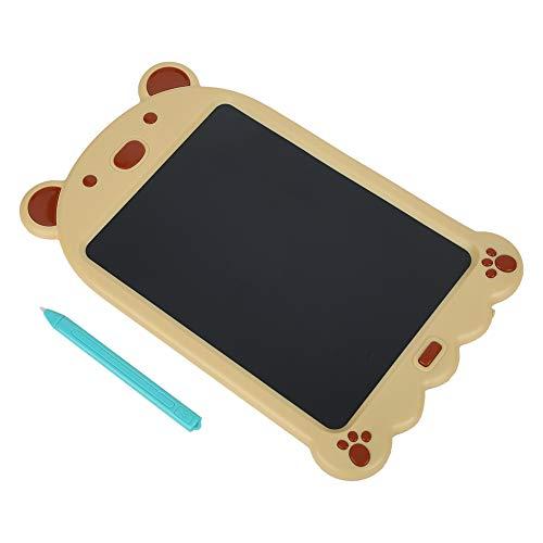 Tableta de escritura, tablero de dibujo de 10 pulgadas, para niños, niños(Cartoon LCD writing board, transparency)