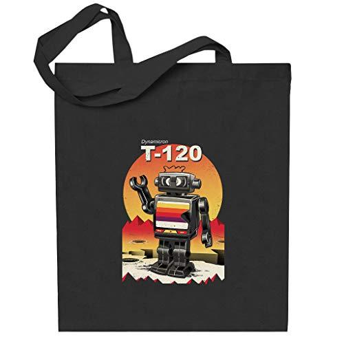 Cloud City 7 Dynamicron T 120 VHS Bot Totebag