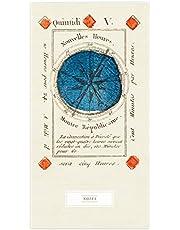 Zahl Farbe Trumpf  Schmales Notizheft - Motiv Karo 5: Set mit 2 Exemplaren