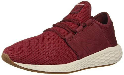 New Balance Herren Fresh Foam Cruz v2 h Sneaker, Rot (Mercury Red/Chilli Pepper/Moonbeam Nr2), 46.5 EU
