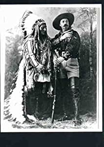 Photo Chief Sitting Bull & Buffalo Bill c1880