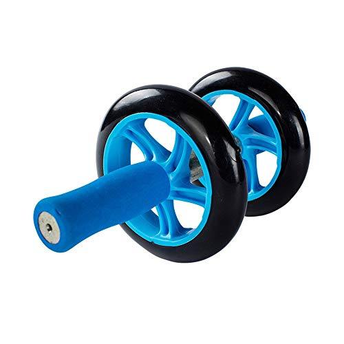 Jsmhh Core & Bauchtrainer Blau Abdominal Rad Abdominal Rad Huge Fitness Roller Mute AB Weight Loss Fitnessgeräte for Home Gym Bauchtrainer Ideal for Anfänger und erfahrene Leute sit up trainingsgert