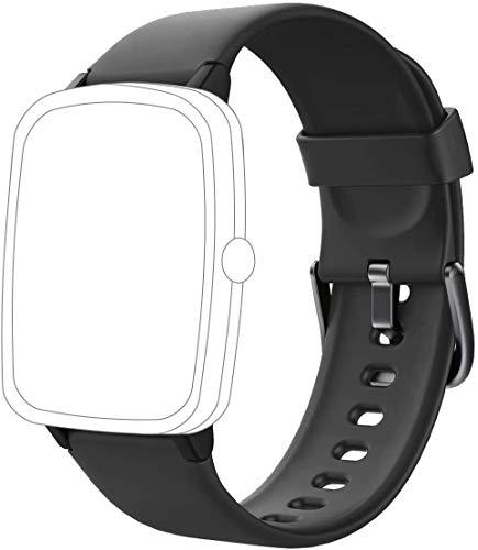 Willful Bracelet Compatible avec Montre Connectée SW021 SW025 Réglable Sport Accessorie Replacement Band pour Fitness