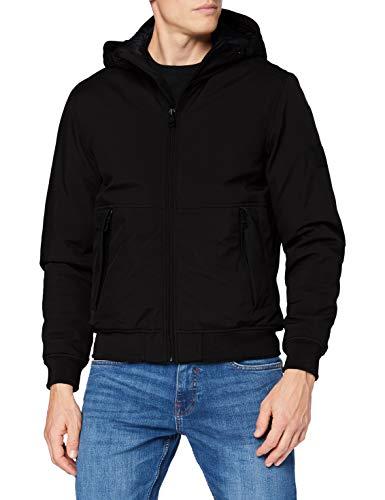 ESPRIT Herren 090EE2G303 Jacke, 001/BLACK, L