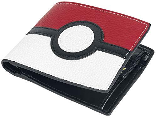 Bioworld Pokémon Pokeball Wallet Männer Geldbörse rot/schwarz/weiß