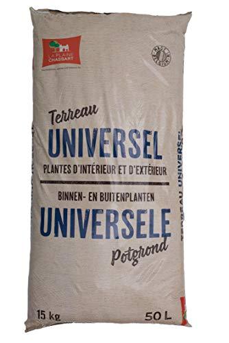 professionnel comparateur La Plaine Chassart |  Base universelle 50l |  Toutes sortes de plantes d'intérieur et d'extérieur… choix