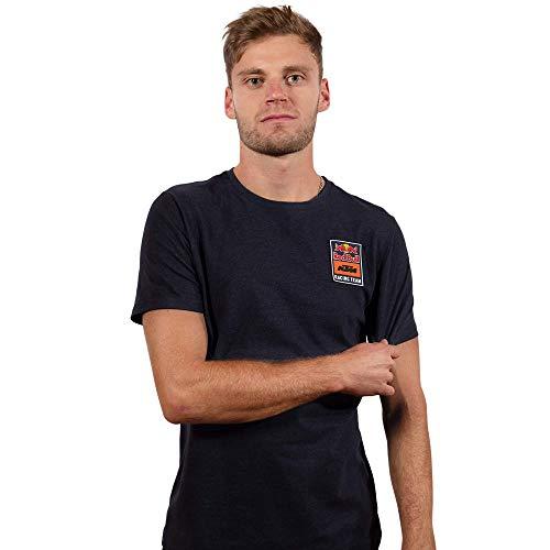 Red Bull KTM Patch T-Camisa, Azul Hombres Small Camisa Manga Larga, KTM Racing Team Original Ropa & Accesorios