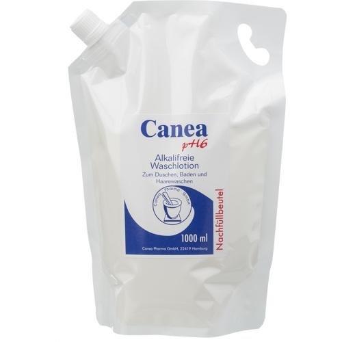 farmaceutische peter CANEA pH6 alkalivrije waslotion navulzak, 1000 ml