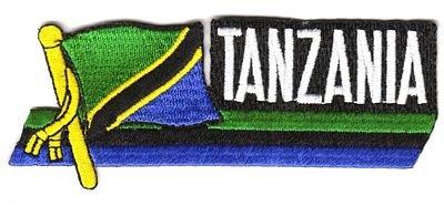 Sidekick Aufnäher Patch Tansania Fahne Flagge NEU