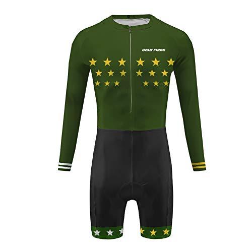 Uglyfrog Skinsuit Cyclisme 2019 Bike Wear Manche Longues Maillot de Cyclisme Costume Vêtements de Sport Bicyclette Tour de France