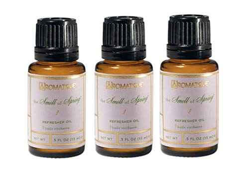 Package of Three (3) Aromatique .5 Ounce Refresher Oils - The Smell of Spring (3)
