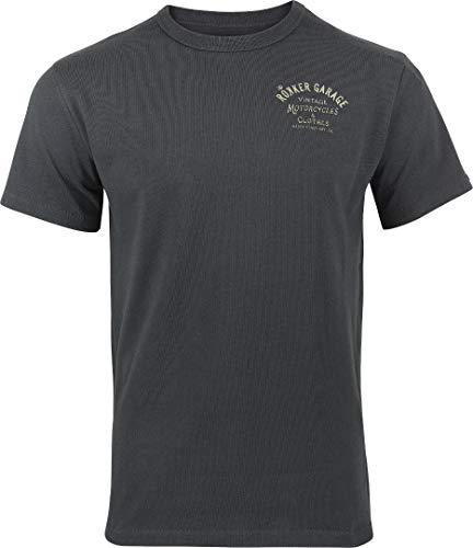 Rokker Garage T-Shirt Anthrazit L