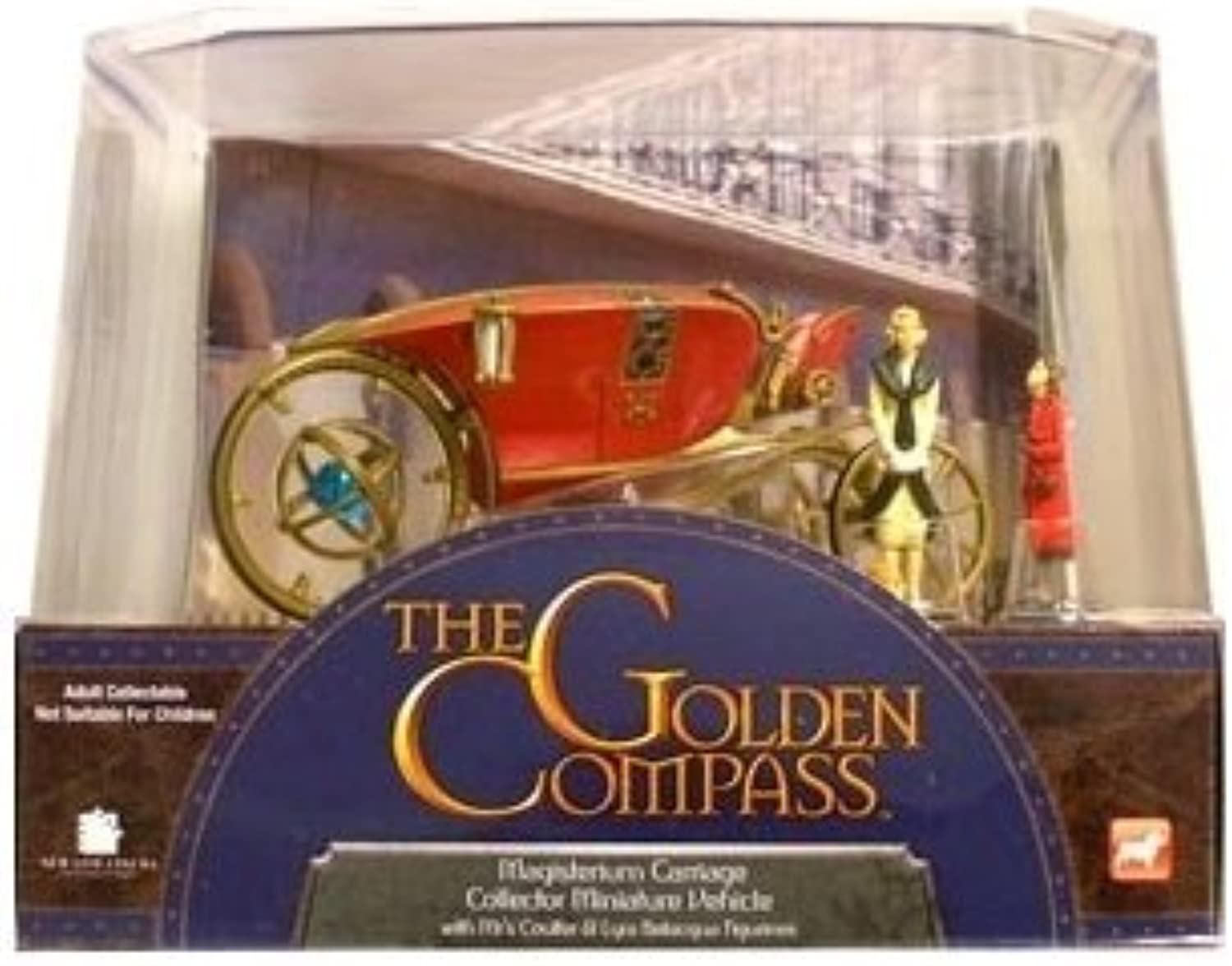 The golden Compass Magisterium Carriage Collector Miniature Vehicle by The golden Compass