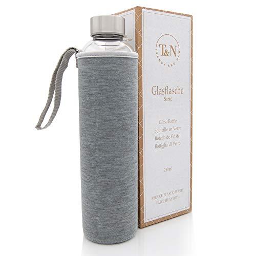 T&N Glasflasche Santé 750 ml (Grau)