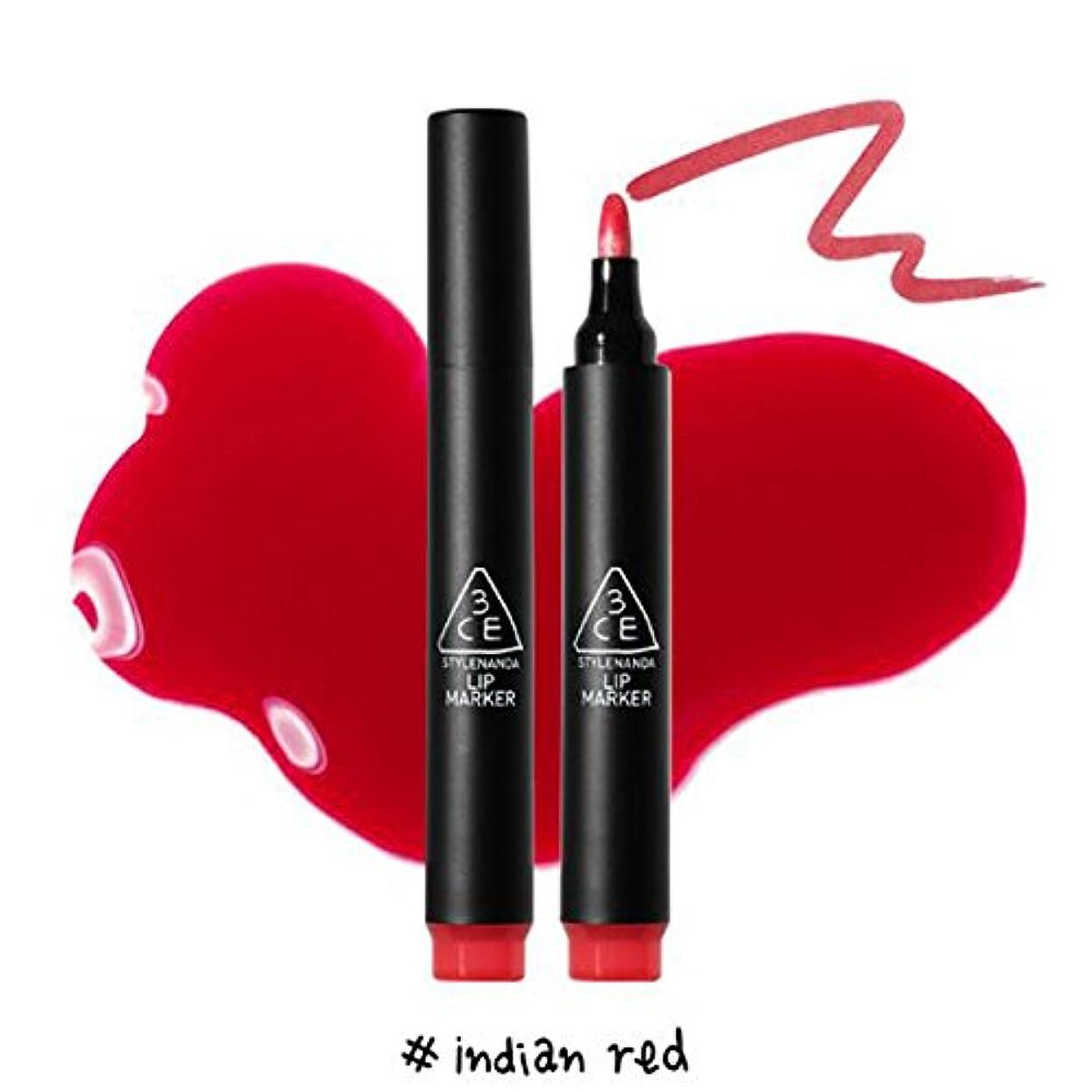 ファックスお客様暖炉3CE [韓国コスメ 3CE] リップマーカーティント 3CE Lip Marker 3CE (1.Indian Red)