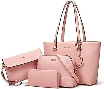 Ytl 4-Pieces Fashion Handbags Wallet Tote Bag