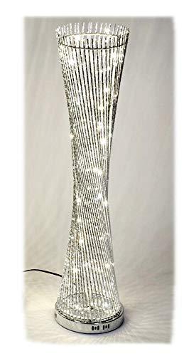 Formano Lampe rund 25 x 100 Silber gedreht