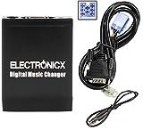 Electronicx Elec-M06-FA Adaptateur de Musique Digitale US, SD, AUX, pour autoradio...