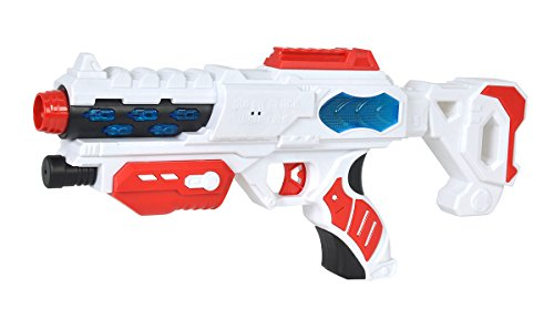 Simba 108042207 - Pistola laser Planet Fighter Space Blaster 38 cm