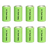 Amityke 6V Battery for pet Stop Dog Collar Compatible with PCC-100 & PCC-200 PTPIR-003 PTPFS-003 Systems for Pet Stop Collars 8 Pack
