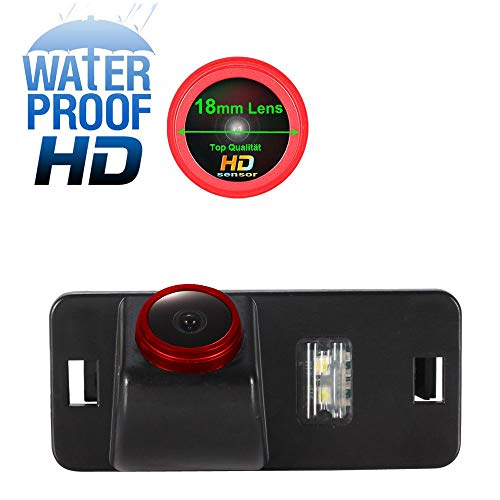Auto Rückfahrkamera Farbkamera Einparkkamera Nachtsicht und für Rückfahrsystem Einparkhilfe - Wasserdicht & Stoßfest für BMW 1/3 Series E82 E90/E90N/E91/E92/E93/M3/CSL