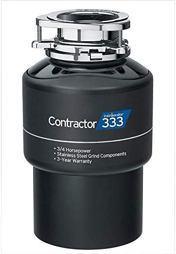 new arrival Contractor outlet sale 333 Garbage Disposal 3/4 high quality Hp (Contractor333) Black online sale