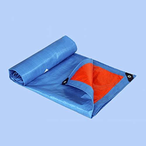 AI LI WEI-zeil verdikking vrachtwagen waterdichte zonnecrème zeil kunststof doek auto regen schubben afdekking goederen anti-aging doek -150 / m2, verkrijgbaar in 14 soorten maten, (maat: 5X6M) 4X8M