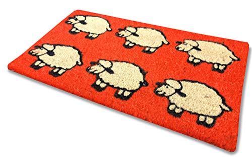 Tex family Alfombra felpudo oveja naranja