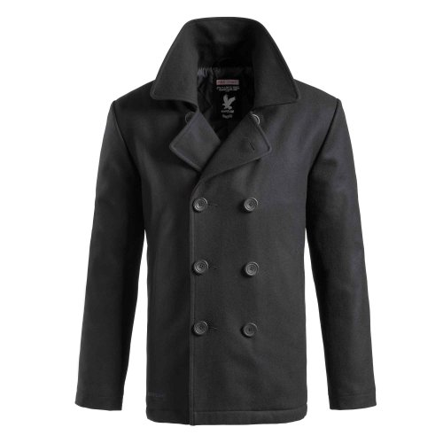 Surplus Pea Coat nero Taglia S