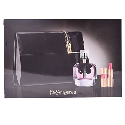 Yves Saint Laurent Yves Saint Laurent Mon Paris Gift Set 50Ml Edp + 1.3Ml Mini Rouge Volupte Shine Lipstick - No. 49 + etui