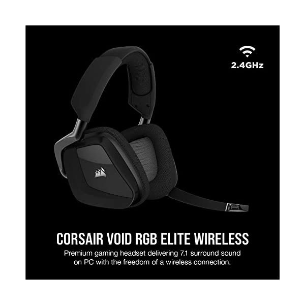 Best Wireless Gaming Headset Corsair Void RGB Elite