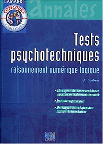 Tests psychotechniques : Raisonnement numérique logique