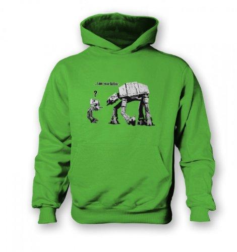 Tv And Film Hoodies By Something Geeky - Sweat-shirt à capuche - Garçon - Vert - lime green - moyen