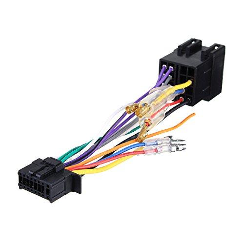 XAOBNIU Conector de arnés de Cables de Radio estéreo de 16 Pines Conector ISO PI100 para Pioneer 03-ON