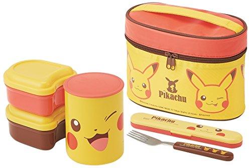 Skater Heat Insulation Lunch Box 560ml Lunch jar Pokemon Pikachu Face