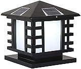 Einfache Dekoration Straßenlampe im Freien Gartenlampe, wasserdichte AC-Rasenlampe, Gartenzaunbeleuchtung Energiesparende Straßenlampe-Klein