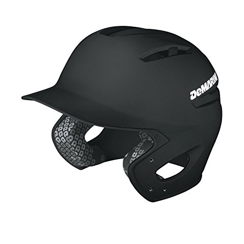 DeMarini Paradox Batting Helmet, Black, Small/Medium