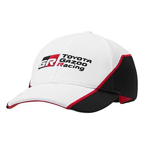 Toyota Gazoo Racing Bonnet tricot/é pour adulte Noir