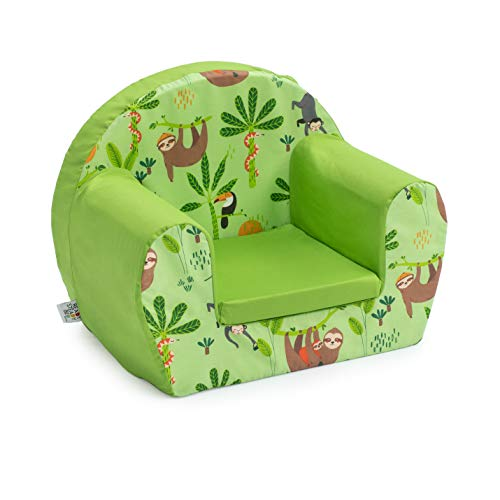 Ready Steady Bed Children Mini Armchair   Kids Sofa Seat Chair   Great for Playroom Kids Room Living Room   Lightweight and Durable (Rainforest)
