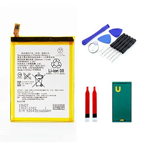 kaputt.de AKKU Set Batterie für Sony Xperia XZ | 2900 mAh | DIY Reparaturset