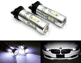 GFJMC 2 Extremely Bright Amber Yellow Error Free PWY24W PW24W LED Bulbs For Audi A3 A4 A5 Q3 BMW i3 MINI Cooper F55 F56 Mercedes GLK Front Turn Signal Lights