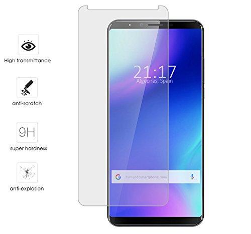 Tumundosmartphone Protector Cristal Templado para CUBOT X18 Plus Vidrio