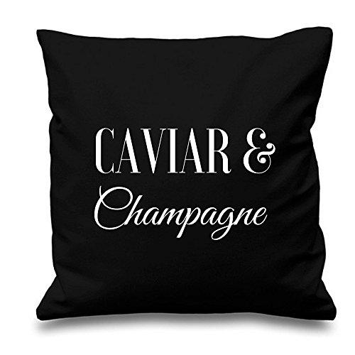 Kaviaar en champagne - zwart 17