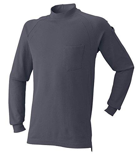 AT:1500-15 長袖ニットハイネックシャツ<br>2016年秋冬!<br>シンプルで合わせやすい!<br>[5L 52: チャコール]