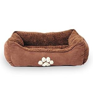 Sofantex Pet Bed Fit Medium Sized Dog/Fat Cat, Machine Washable, Ultra Soft Pet Sofa