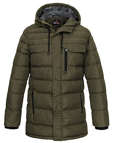 Mens Heavy Quilted Jacket