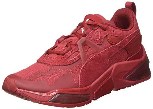 PUMA LQDCELL Optic FM Mono, Zapatillas para Correr de Carretera Hombre, Rojo (Red Dahlia Silver), 42 EU
