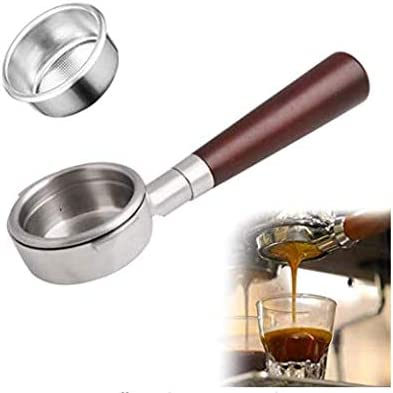 OYSTERBOY Product 51mm 3 Ears Steel OFFicial mail order Portafilter Bottomless Stainless