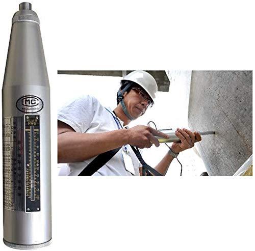 NOBRAND Betonrückschlaghammer Tester 10–60 MPa Resiliometer Schmidt Hammer Beton Test Hammer mit High Polymer Material Shell Testgerät Werkzeug 10–60 MPa